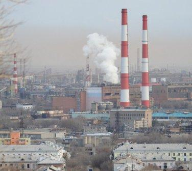 Орск - промышленный город