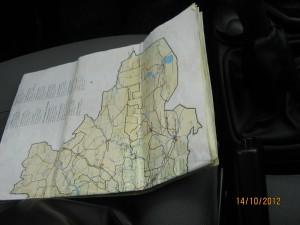 Моя многострадальная карта.