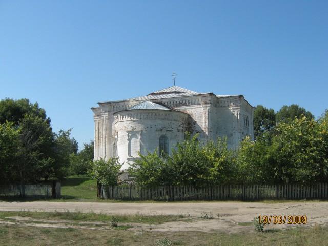 Церковь села Лопатино Лопатинского района Пензенской области