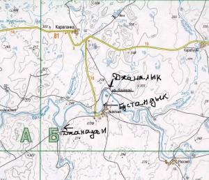карта Новоорский район 1