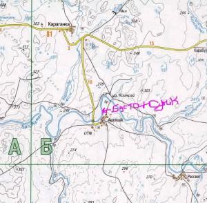 карта Новоорский район 2