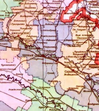 админ карта 1957 год 2