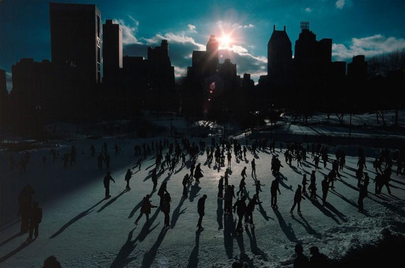 Каток в Центральном парке
