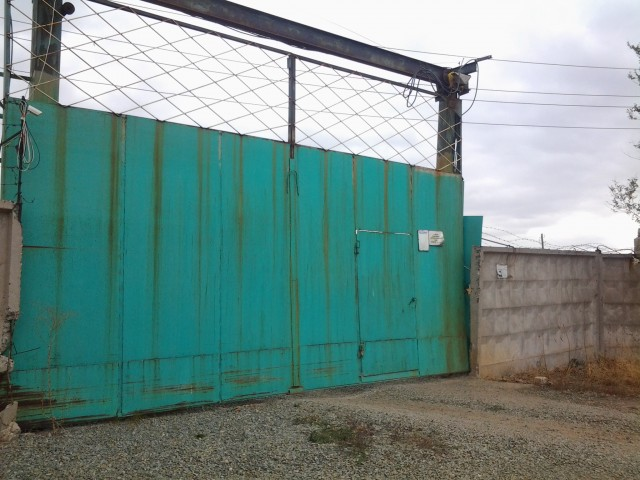 Центральные ворота зфверофермы