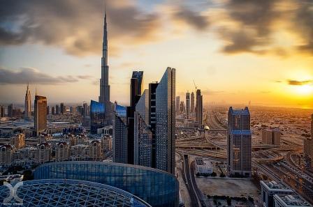 вечерний Дубай 12