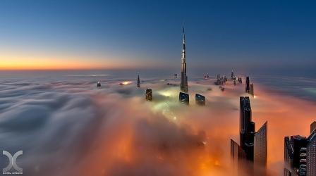 вечерний Дубай 16
