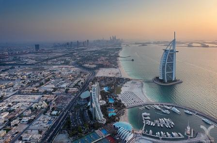 вечерний Дубай 2