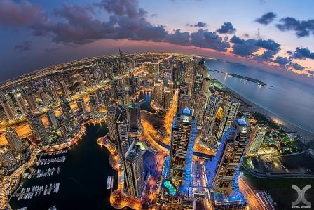 вечерний Дубай 4