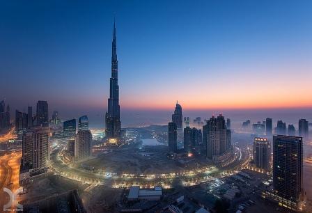 вечерний Дубай 6