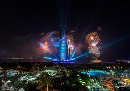 вечерний Дубай 7