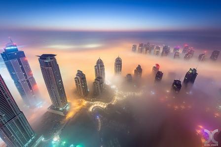 вечерний Дубай 8