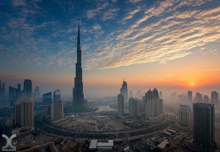 вечерний Дубай 9
