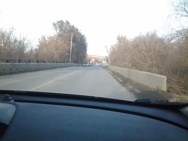 Мост в районе улицы Тагильской