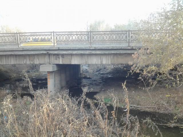 Мост через улицу Краматорскую
