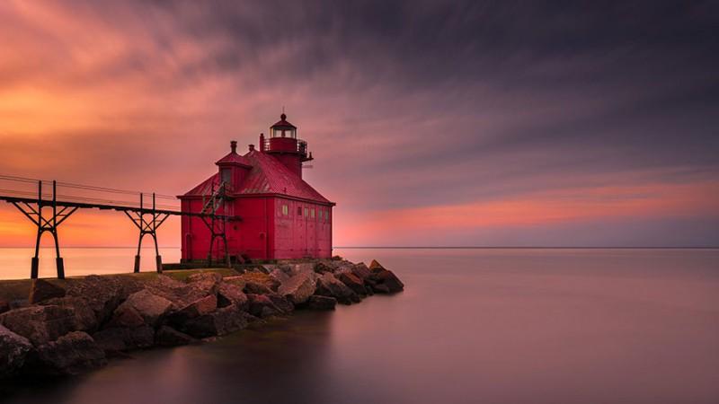 Большой маяк в США