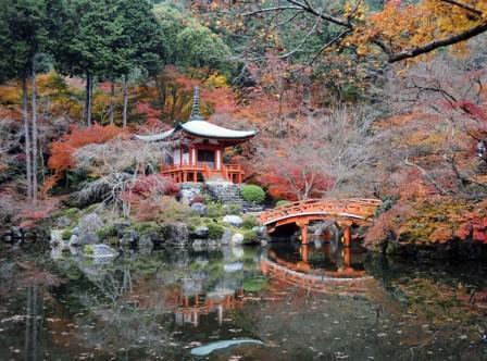 Daigo-ji temple, Japan