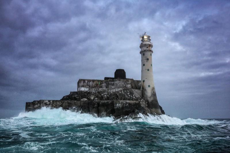 Маяк Fastnet Rock в Ирландии