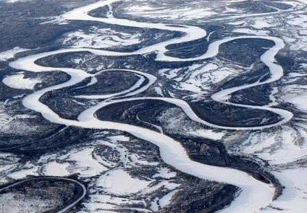 Winter in Kamchatka, Russia