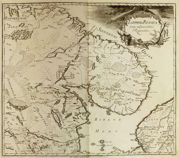 отрывок из Атлас Российской Империи