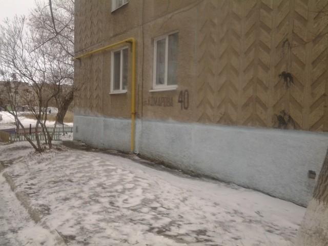 Дом по улице Комарова 40