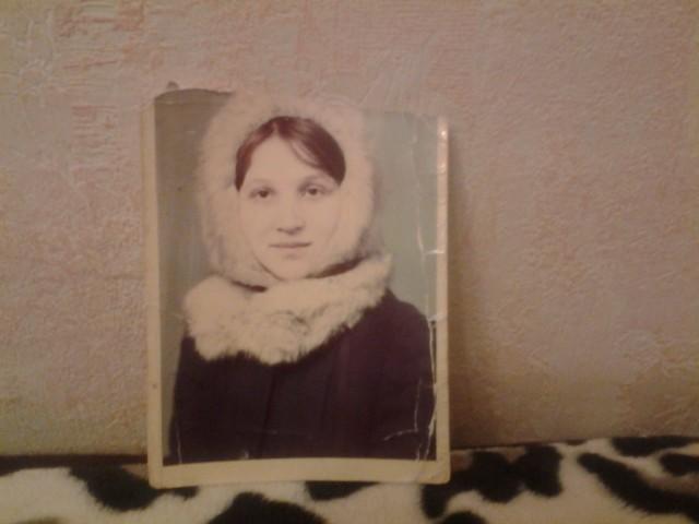Моя мать Лоскутова в девичестве Калашникова Нина Михайловна