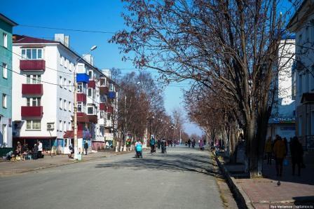 Пешеходная улица в центре