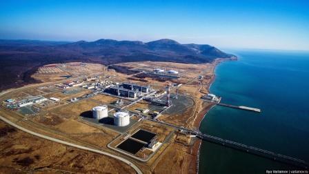 Завод по сжижению природного газа с причальным комплексом 2