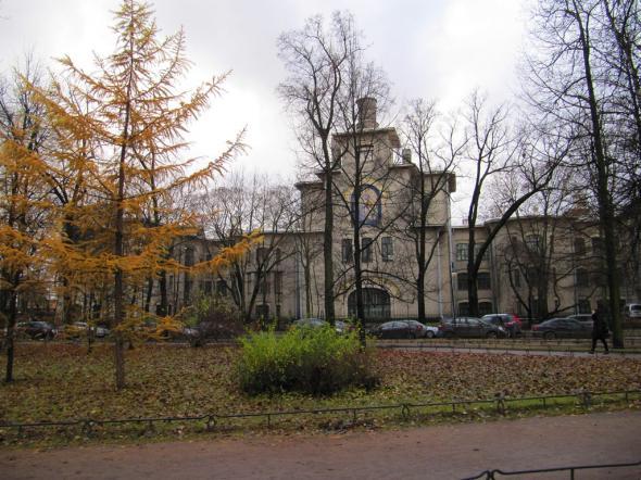 Здание бывшего Ортопедического клинического института