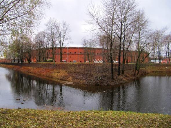 здание Нового арсенала Петропавловской крепости