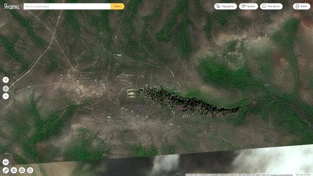 Остатки хутора Таврический в верховьях Ветлянки