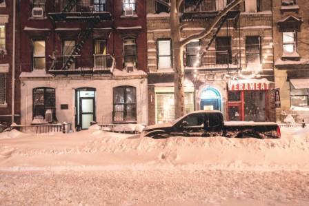 америку завалило снегом 2016