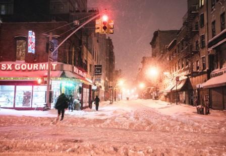 нью йорк зимой фото
