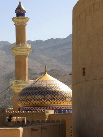 султанат оман на карте