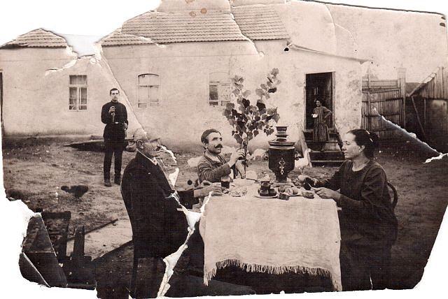 Фотография хутора из личного архива семьи Вейденбах, первопоселенцы