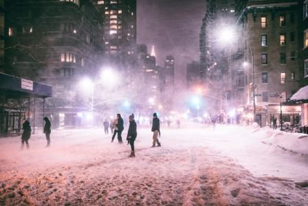 зима в америке 2016