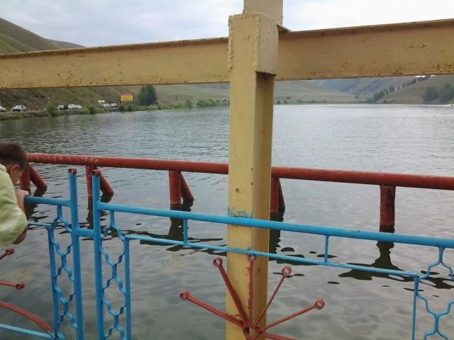 Мост с башкирской символикой