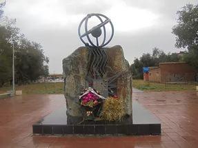 Памятник чернобыльцам в Орске
