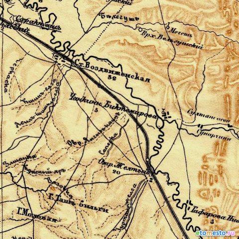 Чанкин-Биктемирово на карте