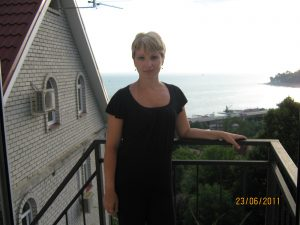 На балкончике кухни