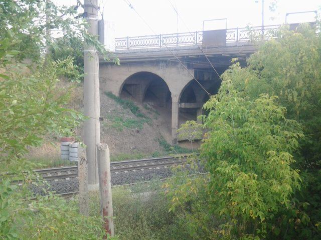 Железная дорога - бывшая Аккермановская ветка