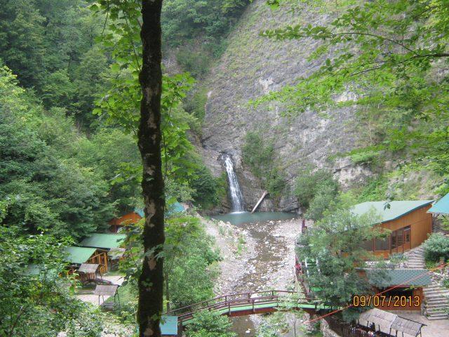 Нижний водопад. фото сверху