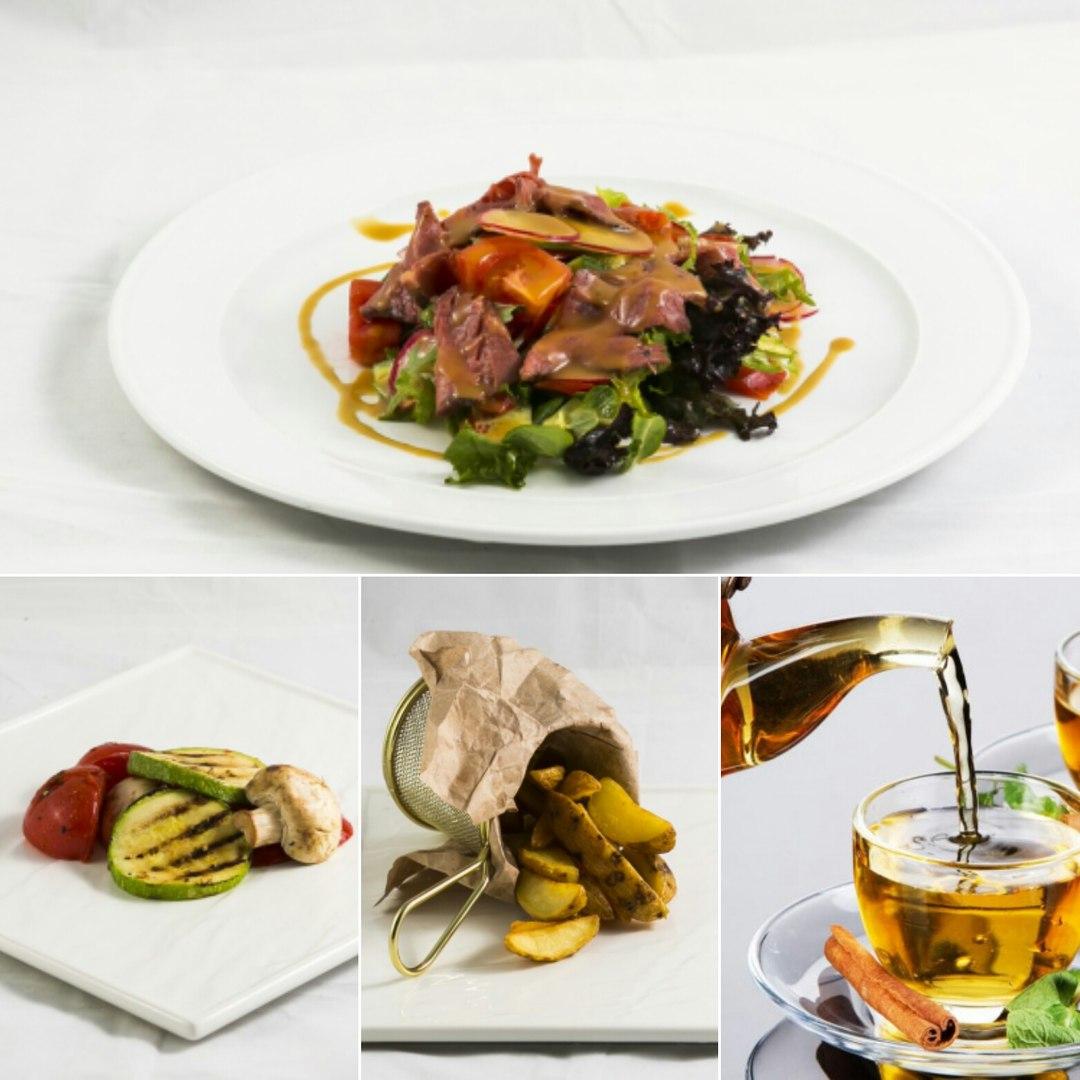 Вкусные блюда в ресторане Акватория