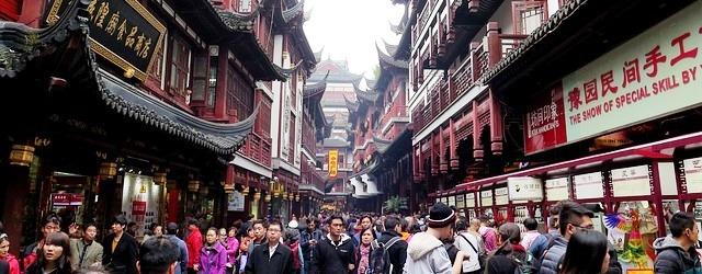 Торговля аниквариатом в Шанхае